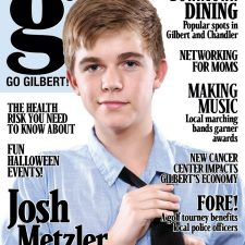 Go Gilbert! October 2011 cover