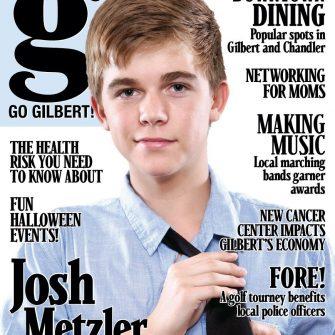 Go Gilbert! October 2011 cover